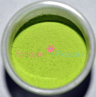 Edible Apple Green Petal Dust