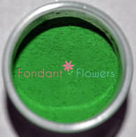 Edible Kelly Green Petal Dust