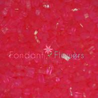 Hot Pink Sugar Crystals (8 ounces)