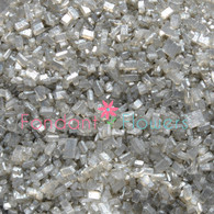 Silver Sugar Crystals (pearlized) (2 ounces)