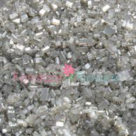 Silver Sugar Crystals (pearlized) (8 ounces)