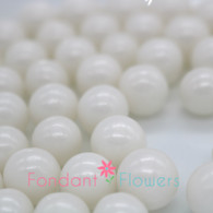 12mm Sugar Pearls - White