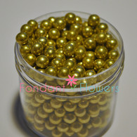 6mm Dragee's - Gold