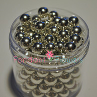 8mm Dragee's - Silver