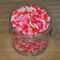 Valentine's Jimmies Sprinkles (2 ounces)
