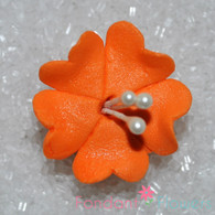 "1.25"" Fruit Blossom - Orange (10 per box)"