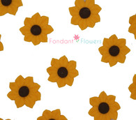 Royal Icing Sunflowers (24 per box)
