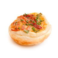 Free Range Egg & Bacon Open Pies (20)
