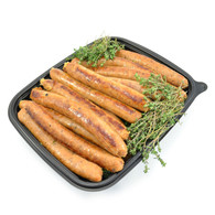 Gourmet Sausages - Beef & Caramelised Onion