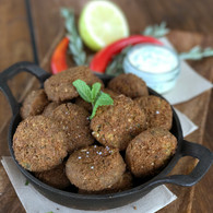 Fried chickpea falafels (20)