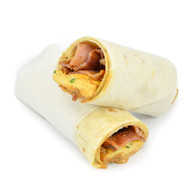 Bacon & Egg Wraps (10 half wraps)