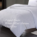 Premier Hotel Select Duvet Cover Leaf Pattern