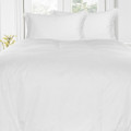Classic White Goose Down Feather Comforter - Light Weight King Size