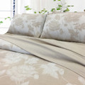 Linen Cotton Duvet Cover Set - Lily