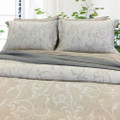 Linen Cotton Duvet Cover Set - SWIRL