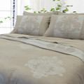 Linen Cotton Duvet Cover Set - PINEAPPLE