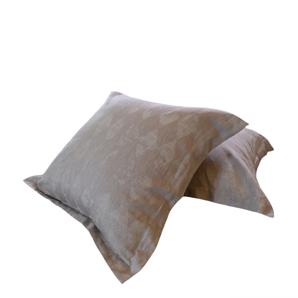 yarn dyed linen cotton euro pillow shams natural comfort store