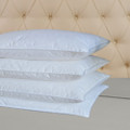 SPECIAL 4 PACK!! Classic White Goose Down Feather Décor Pillows Standard Size