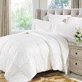 Natural Comfort Soft and Luxurious 300TC Sateen White Down Alternative Duvet Insert