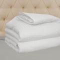 Hotel Select 250TC Down Alternative White Oversize Comforter, Duvet Cover Insert