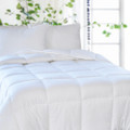 Microfiber Embossed Down Alternative Duvet- Medium Warm Filled