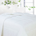 Microfiber Embossed Down Alternative Comforter- Year Around Filled