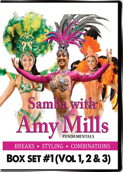 Learn to Dance Samba Solo with Amy Mills