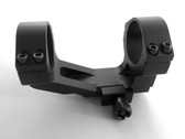"ar15 1"" Inch - 30mm Flat Top One Piece See Through Rifle Scope Ring Mount Picatinny"