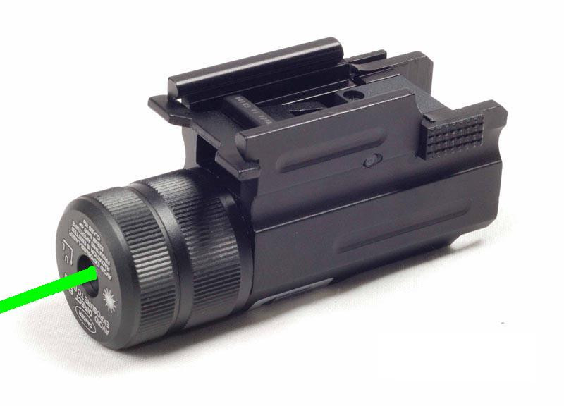 Green Pistol Rifle Laser Sight For Ruger Sr9 Sr40 Glock 17 19 22