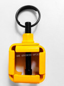 Yellow! .223 4/15 Blank Firing Adaptor with Integral Housing for Carbine Rifle