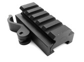 QD Quick Release 5-Slot Rifle Picatinny/Weaver Universal Adaptor Riser Rail