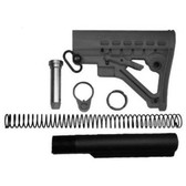 Gen 2! Made in USA! Black MIL SPEC AR15 Stock Buttstock ar 15