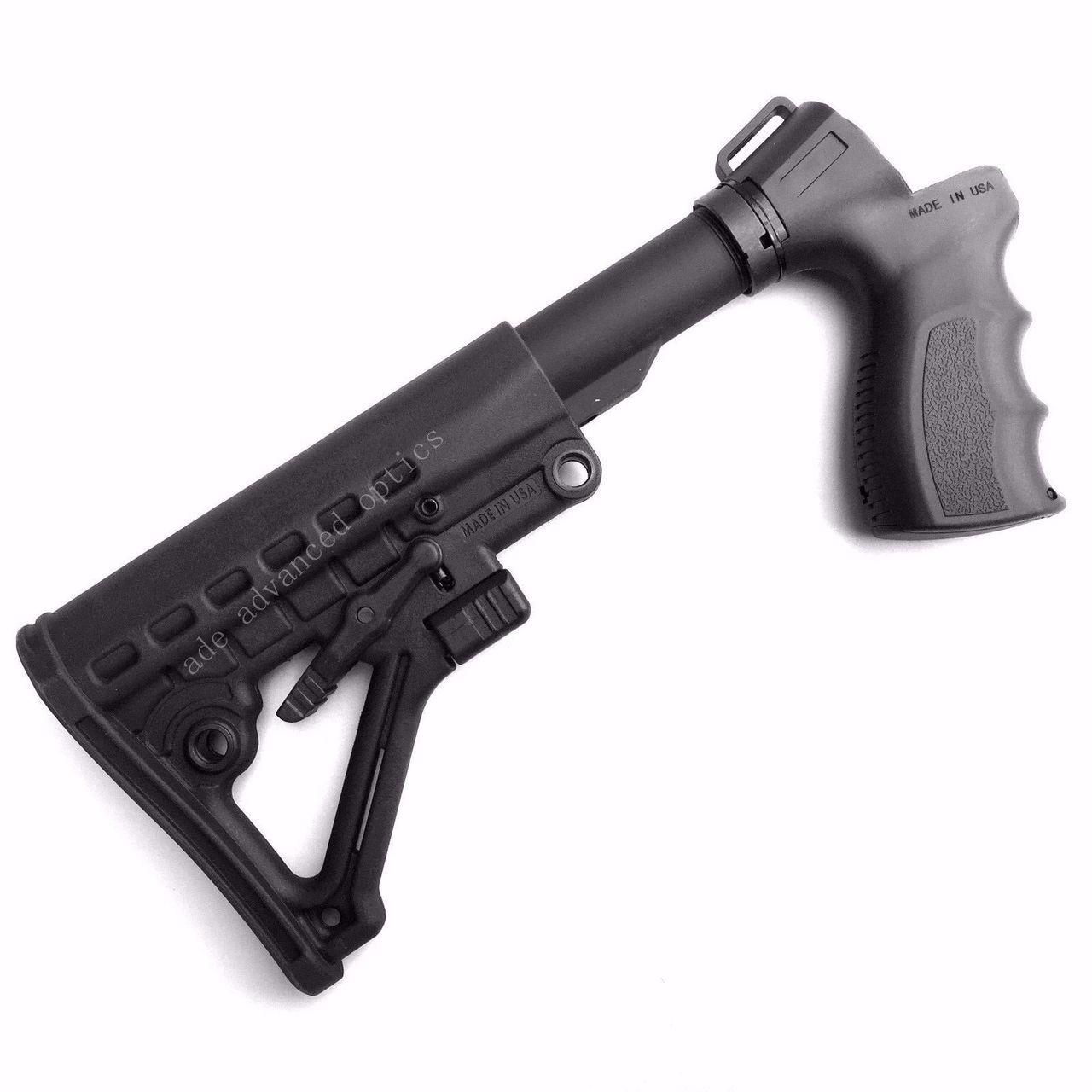 MADE IN USA! 12 GA Gen 2 Shotgun Stock+Pistol Grip for Mossberg 500 590 535