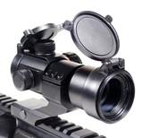 Ade Advanced Opticsc RD1-005 Red Green Dot Sight Scope Tactical Reflex w/ 20mm Weaver Rail 4 MOA