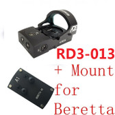 Ade Advanced Optics RD3-013 Bertrillium RED Dot Reflex Sight Pistol for Berreta
