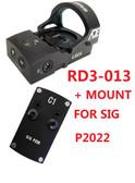 Ade RD3-013 Bertrillium RED Dot Waterproof Reflex Sight for Sig-Sauer-P226 P2020