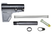 Lightweight AR15 Pistol Brace Assembly with Pistol Buffer Tube Kit