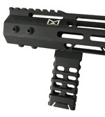 Skeleton Mlok Metal Foregrip Front Grip for M-Lok Handguard Rail