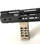 FDE! Skeleton Mlok Metal Foregrip Front Grip for M-Lok Handguard Rail - Flat Dark Earth