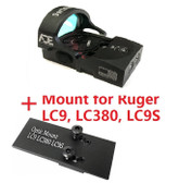 Ade Advanced Optics Bertrillium RD3-013 Red Dot Reflex Sight for Ruger LC9,LC380,LC9S Pistol …