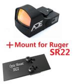 Ade Advanced Optics Compact RD3-009 Red Dot Reflex Sight for SR22 Pistol …