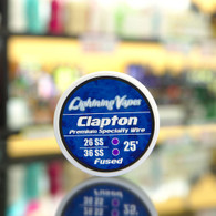 Clapton Wire 25ft 26ss/36ss Fused
