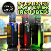 Free Set of Batteries with Vaporesso Polar 220w Kit!