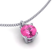 Pink Sapphire 4mm Brilliant Cut