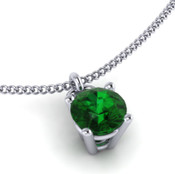 Emerald 4mm Brilliant Cut