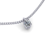 0.25ct Brilliant Cut Diamond Pendant