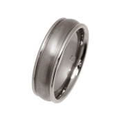 Titanium 6mm Rounded Design