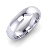 CO001 Marquise Cut Out Wedding Ring