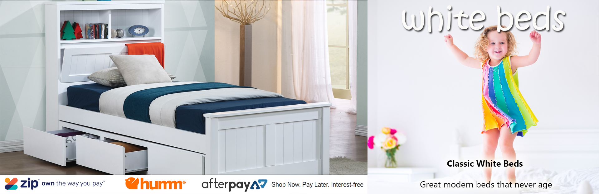Excellent Kids White Beds Kids Bed White Single White Bed King Beutiful Home Inspiration Xortanetmahrainfo