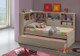 Balllini Single & King Single Trundle Bed is a very modern and practical bedroom solution for boys or girls. Bed includes bookcase bedhead and surround bookcase with Trundle.
